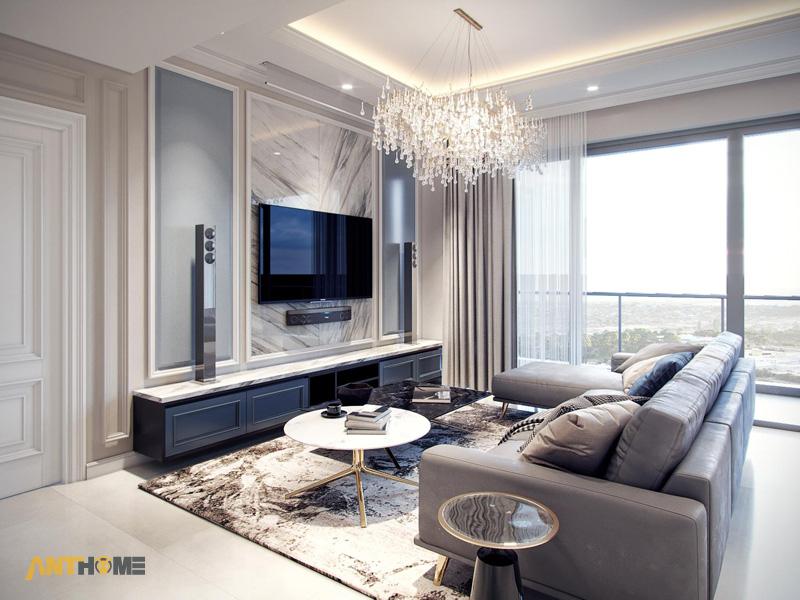 Thiết kế nội thất căn hộ Estella Heights 120m2 2