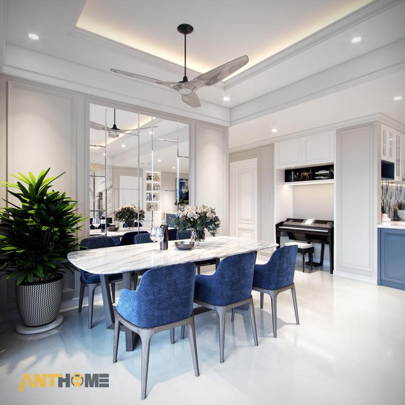 Thiết kế nội thất căn hộ Estella Heights 120m2 3