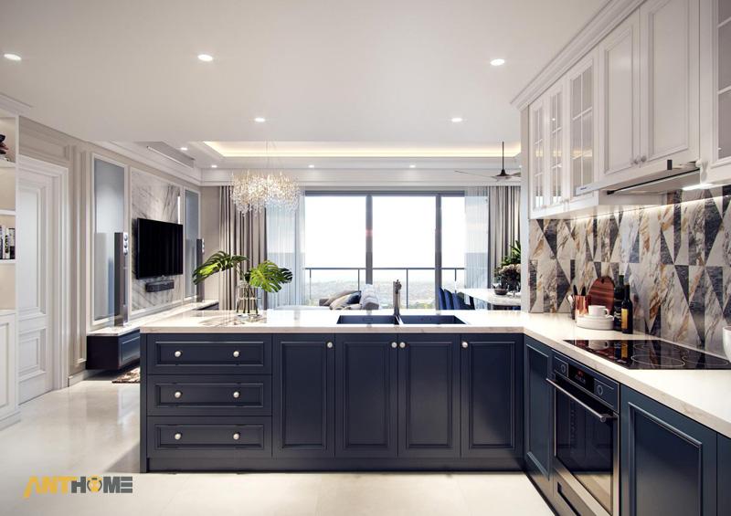 Thiết kế nội thất căn hộ Estella Heights 120m2 4