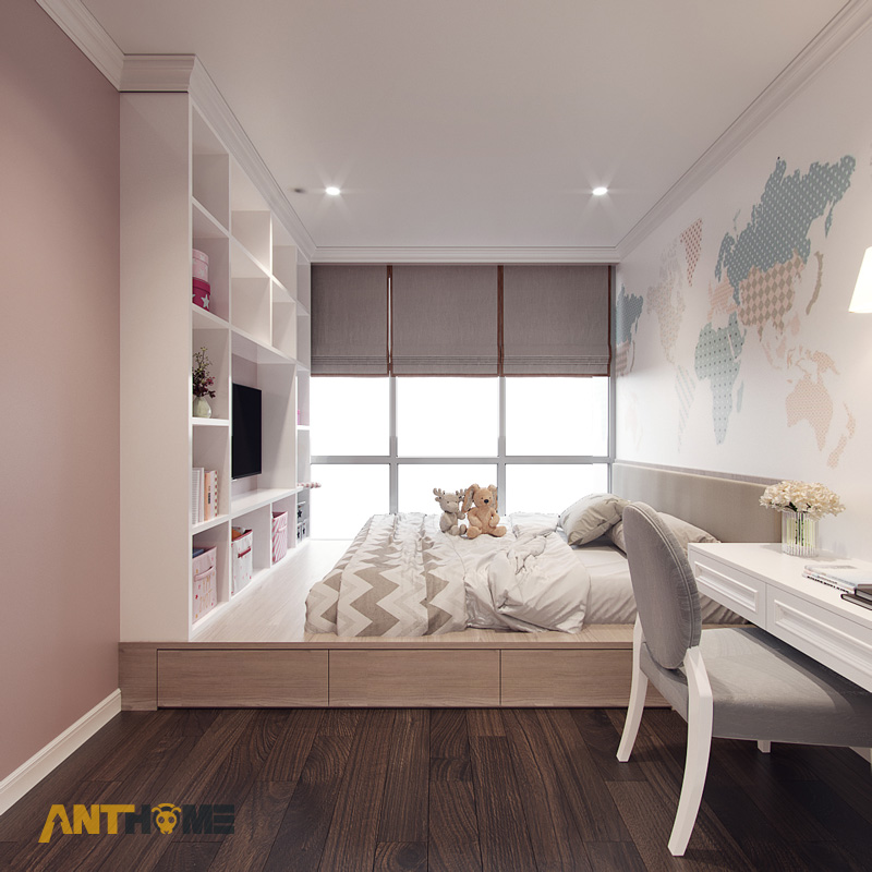 Thiết kế nội thất căn hộ Estella Heights 120m2 5