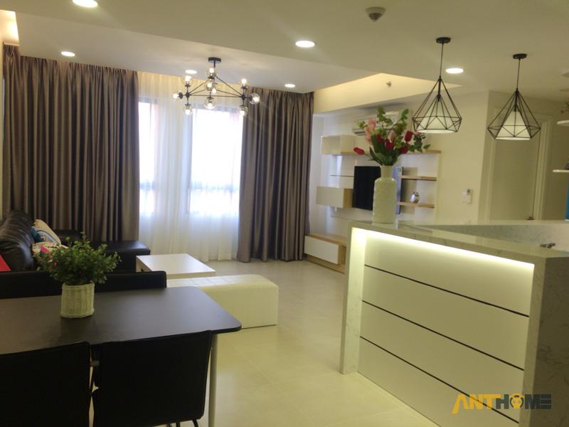 Thi công nội thất căn hộ chung cư Masteri Thảo Điền 2 phòng ngủ 4
