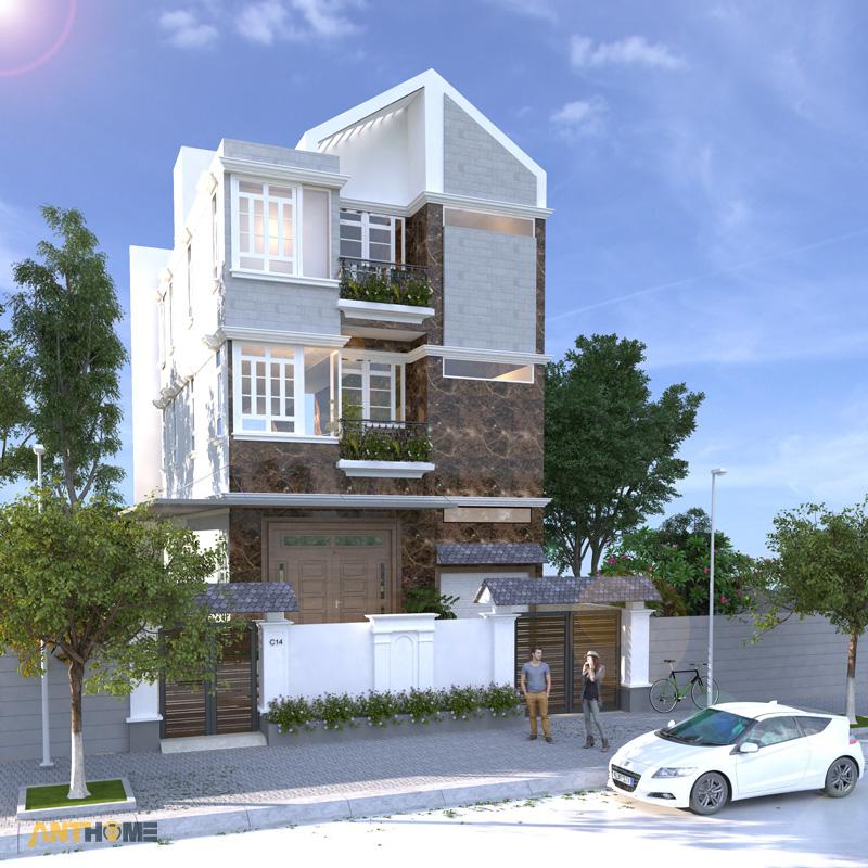 Thiết kế nội thất biệt thự Trần Thái đẹp, hiện đại 1