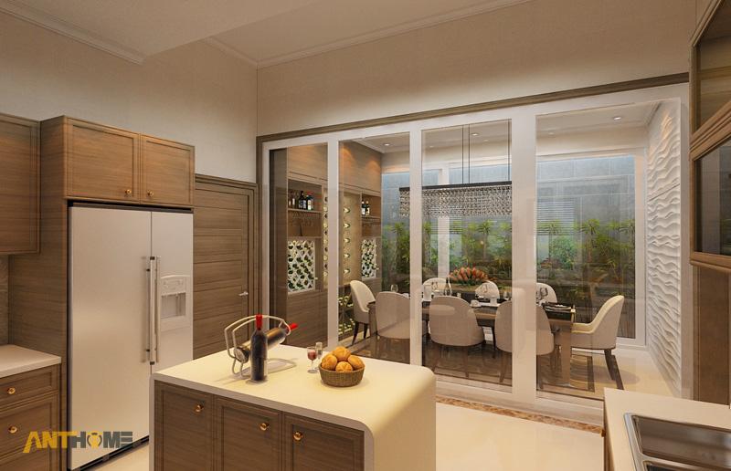 Thiết kế nội thất biệt thự Trần Thái đẹp, hiện đại 12