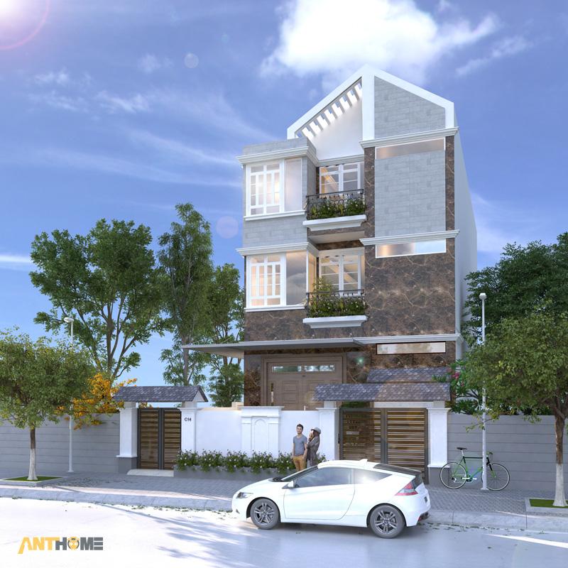 Thiết kế nội thất biệt thự Trần Thái đẹp, hiện đại 2