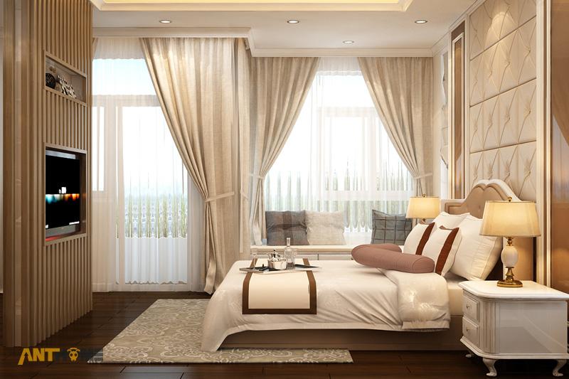 Thiết kế nội thất biệt thự Trần Thái đẹp, hiện đại 20