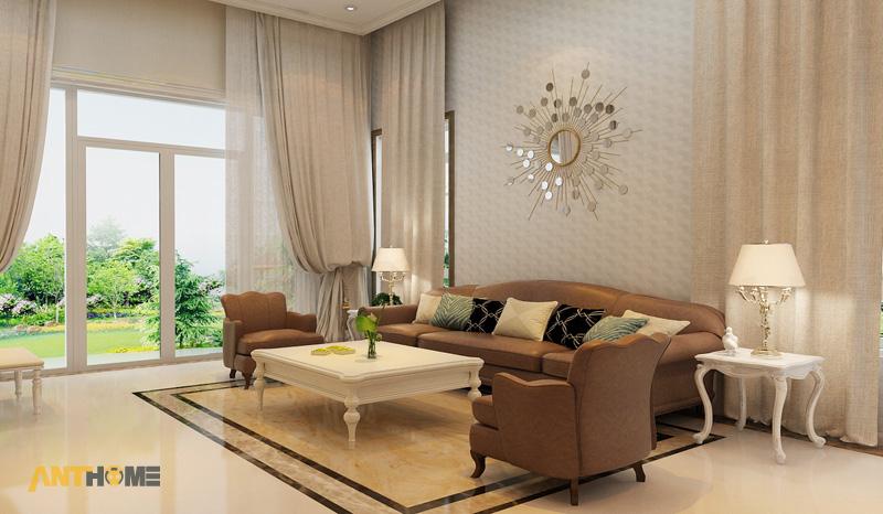 Thiết kế nội thất biệt thự Trần Thái đẹp, hiện đại 3