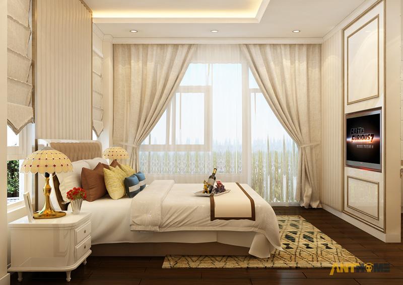Thiết kế nội thất biệt thự Trần Thái đẹp, hiện đại 33