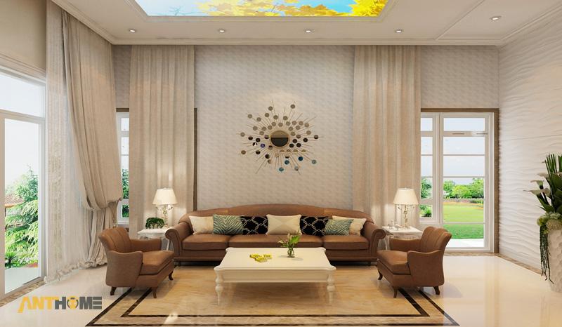 Thiết kế nội thất biệt thự Trần Thái đẹp, hiện đại 4
