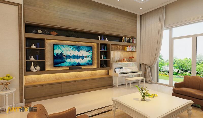 Thiết kế nội thất biệt thự Trần Thái đẹp, hiện đại 5