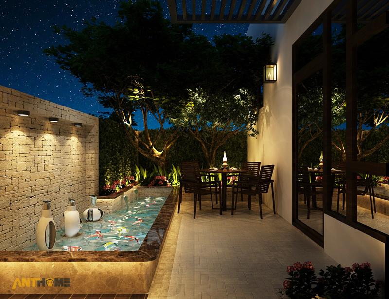 Thiết kế nội thất biệt thự Trần Thái đẹp, hiện đại 52