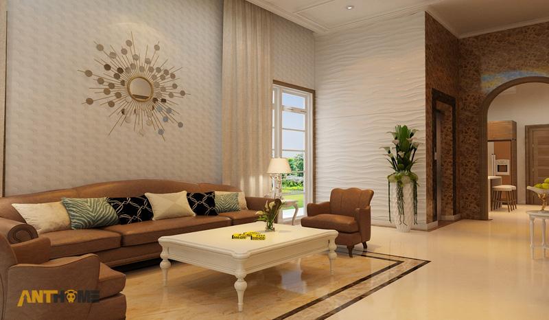 Thiết kế nội thất biệt thự Trần Thái đẹp, hiện đại 6