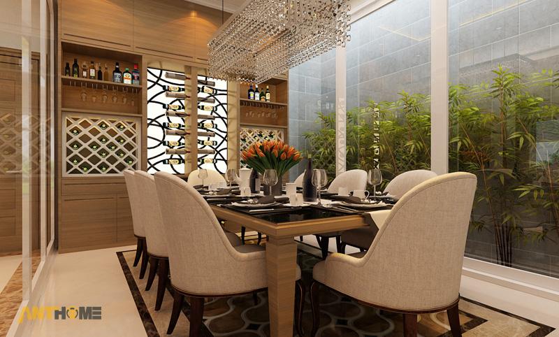 Thiết kế nội thất biệt thự Trần Thái đẹp, hiện đại 7