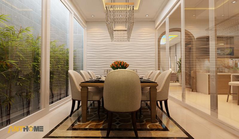 Thiết kế nội thất biệt thự Trần Thái đẹp, hiện đại 8