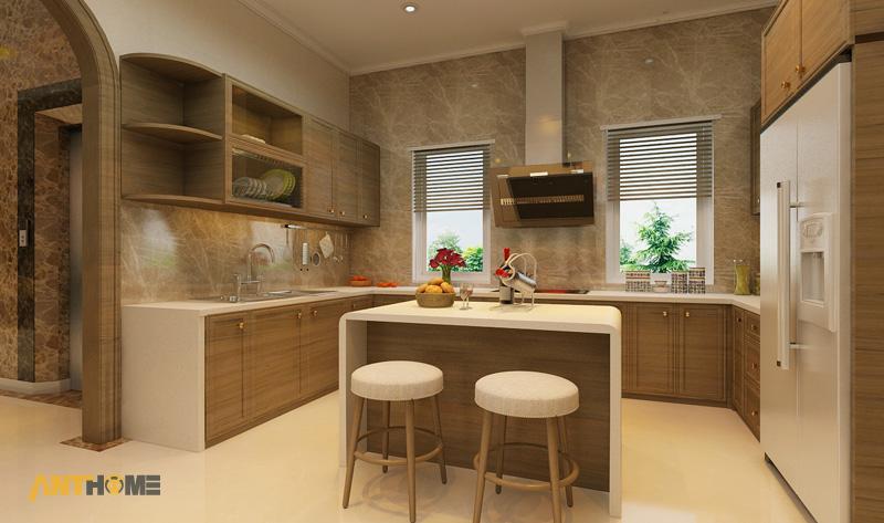 Thiết kế nội thất biệt thự Trần Thái đẹp, hiện đại 9