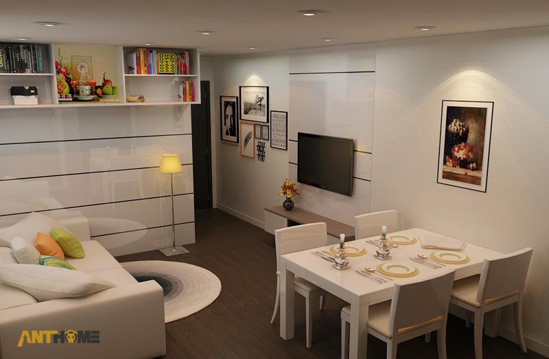 Thiết kế nội thất căn hộ An Phú Garden 1 phòng ngủ 3