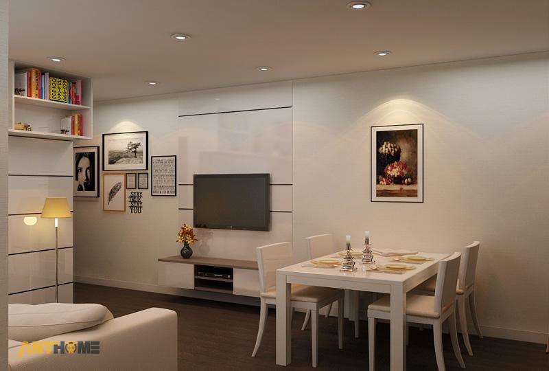 Thiết kế nội thất căn hộ An Phú Garden 1 phòng ngủ 4