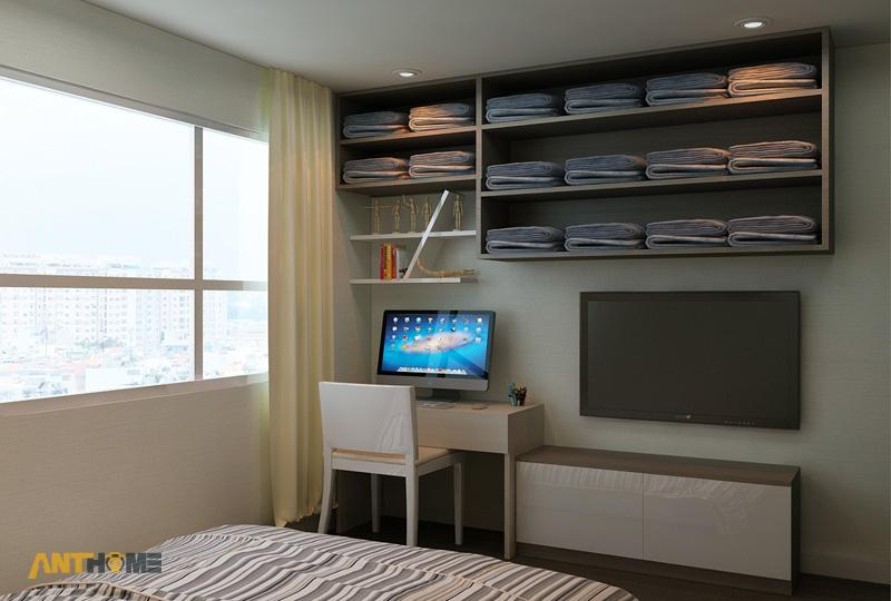 Thiết kế nội thất căn hộ An Phú Garden 1 phòng ngủ 7