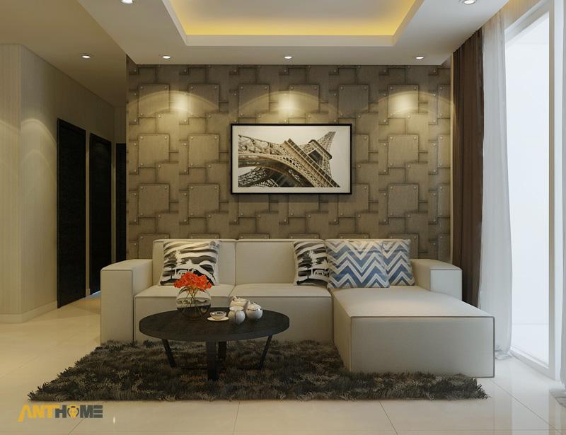 Thiết kế nội thất căn hộ Botanica 3 phòng ngủ 1
