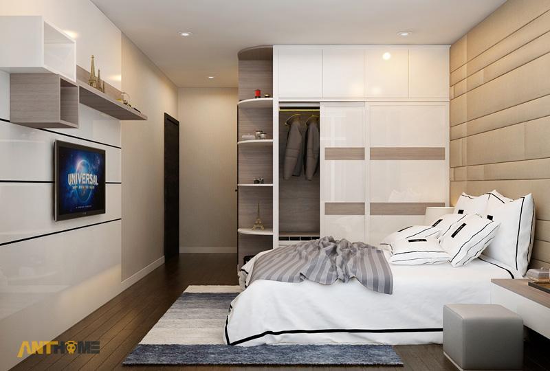 Thiết kế nội thất căn hộ Botanica 3 phòng ngủ 12
