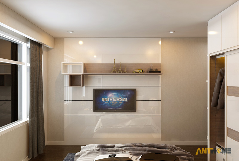 Thiết kế nội thất căn hộ Botanica 3 phòng ngủ 13