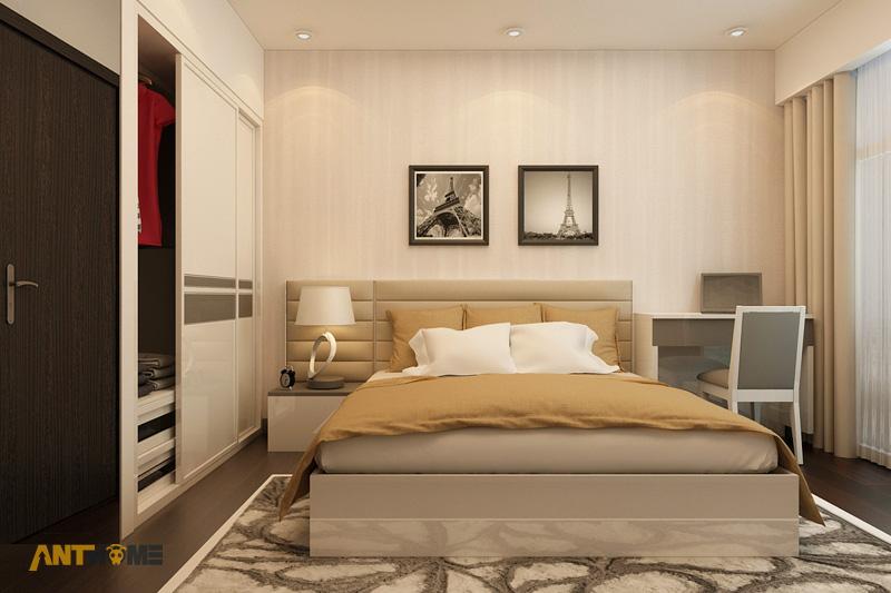 Thiết kế nội thất căn hộ Botanica 3 phòng ngủ 14