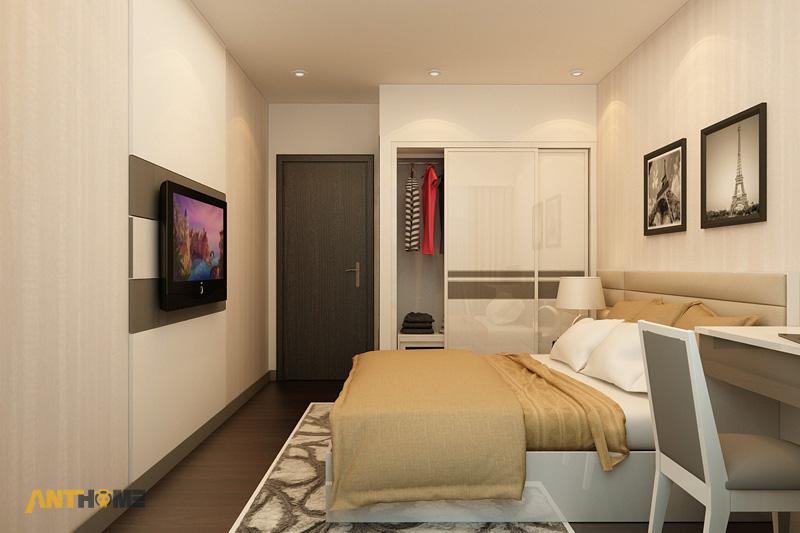 Thiết kế nội thất căn hộ Botanica 3 phòng ngủ 16