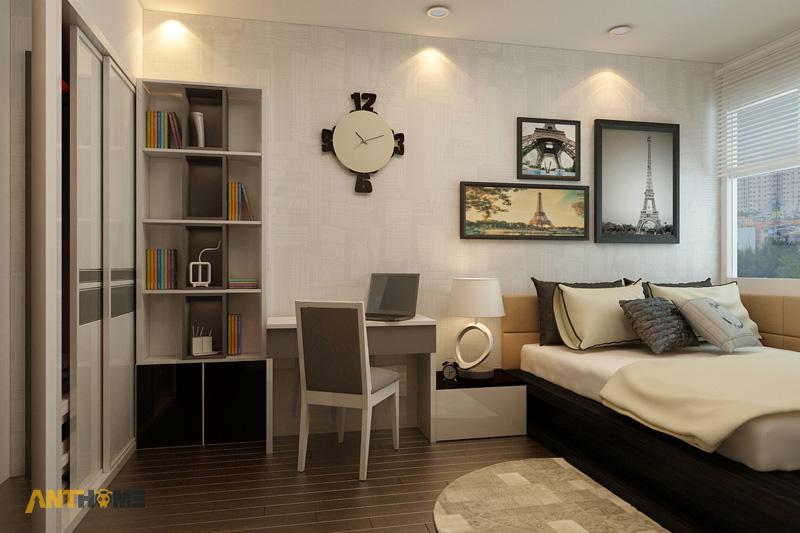 Thiết kế nội thất căn hộ Botanica 3 phòng ngủ 18
