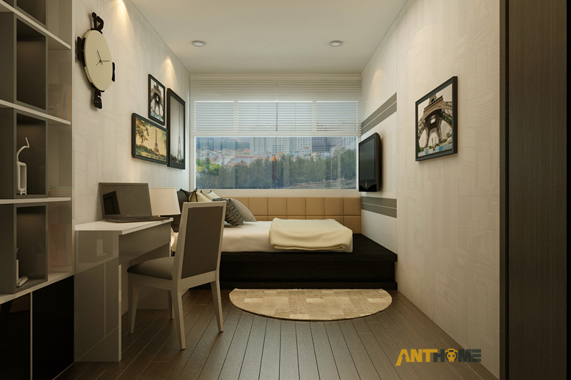 Thiết kế nội thất căn hộ Botanica 3 phòng ngủ 19