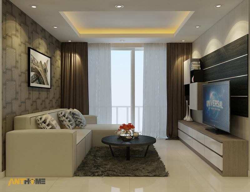 Thiết kế nội thất căn hộ Botanica 3 phòng ngủ 2