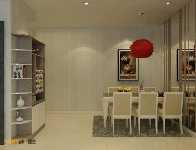 Thiết kế nội thất căn hộ Botanica 3 phòng ngủ 6