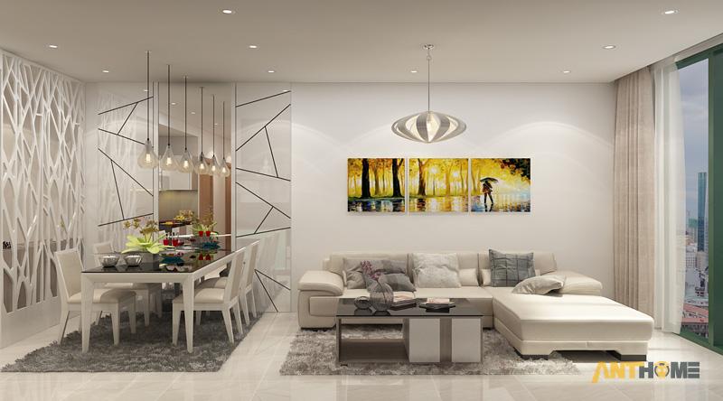 Thiết kế nội thất căn hộ chung cư ICON56 47m2 1