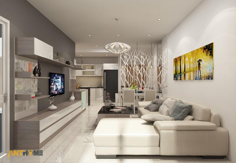 Thiết kế nội thất căn hộ chung cư ICON56 47m2 2