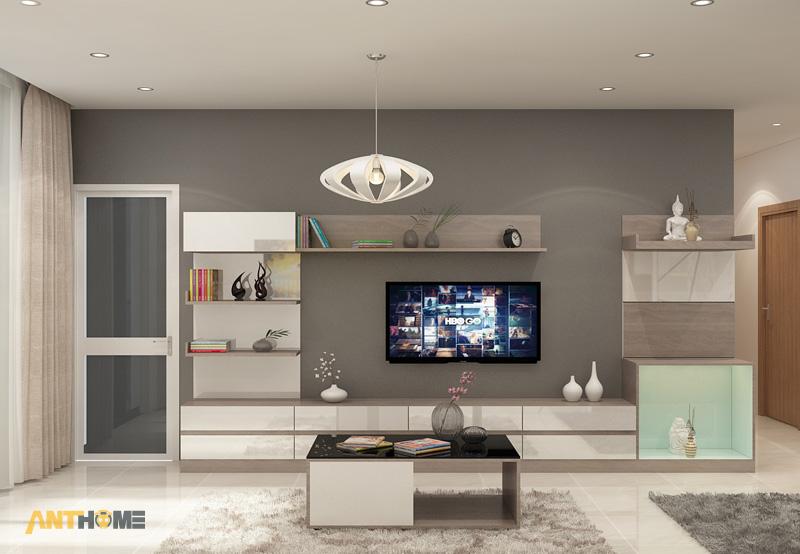 Thiết kế nội thất căn hộ chung cư ICON56 47m2 3