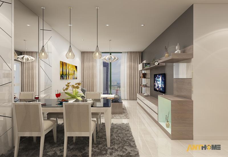 Thiết kế nội thất căn hộ chung cư ICON56 47m2 4