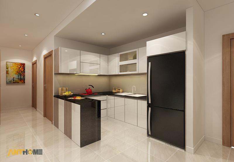 Thiết kế nội thất căn hộ chung cư ICON56 47m2 5