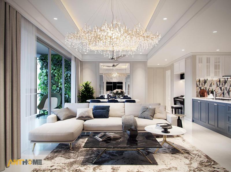 Thiết kế nội thất căn hộ Estella Heights 120m2 1