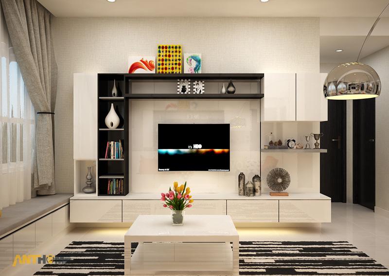 Thiết kế nội thất căn hộ Galaxy 9 2 phòng ngủ 3