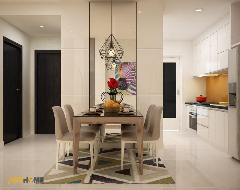 Thiết kế nội thất căn hộ Galaxy 9 2 phòng ngủ 5