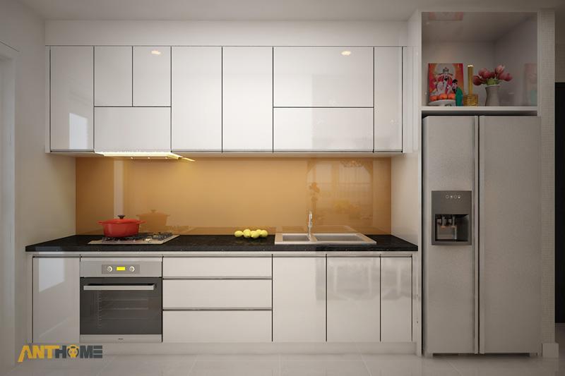 Thiết kế nội thất căn hộ Galaxy 9 2 phòng ngủ 6