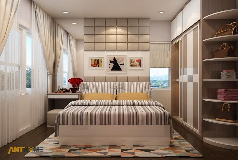 Thiết kế nội thất căn hộ Galaxy 9 2 phòng ngủ 7