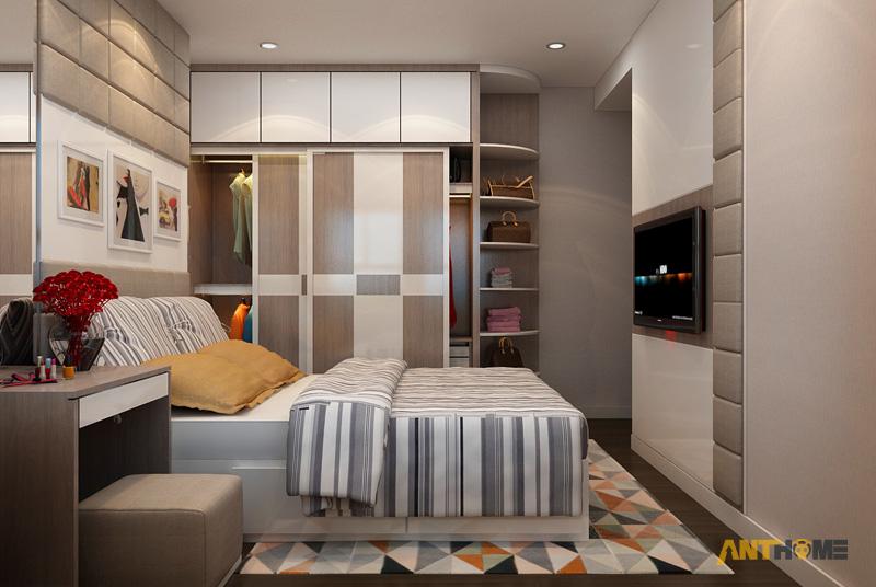 Thiết kế nội thất căn hộ Galaxy 9 2 phòng ngủ 8