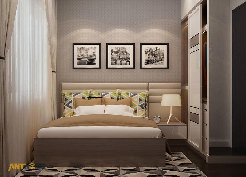 Thiết kế nội thất căn hộ Galaxy 9 2 phòng ngủ 9