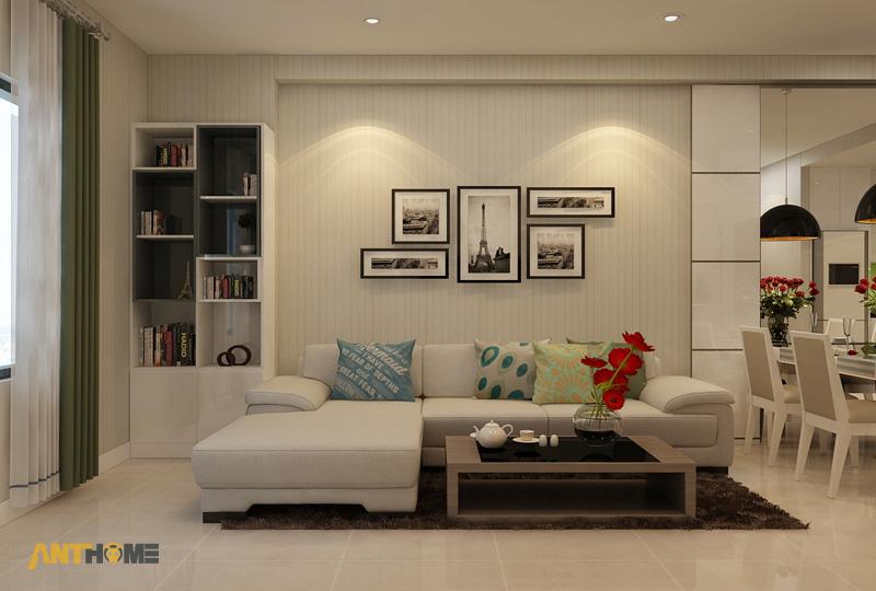 Thiết kế nội thất căn hộ ICON56 1 phòng ngủ 1