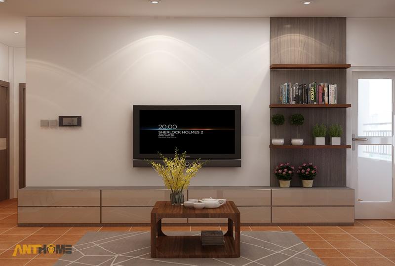 Thiết kế nội thất căn hộ ICON56 1 phòng ngủ 12