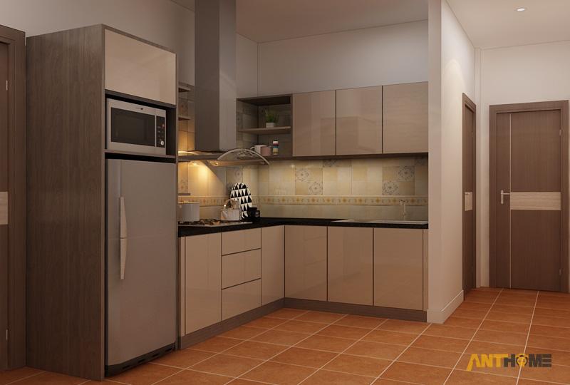 Thiết kế nội thất căn hộ ICON56 1 phòng ngủ 15