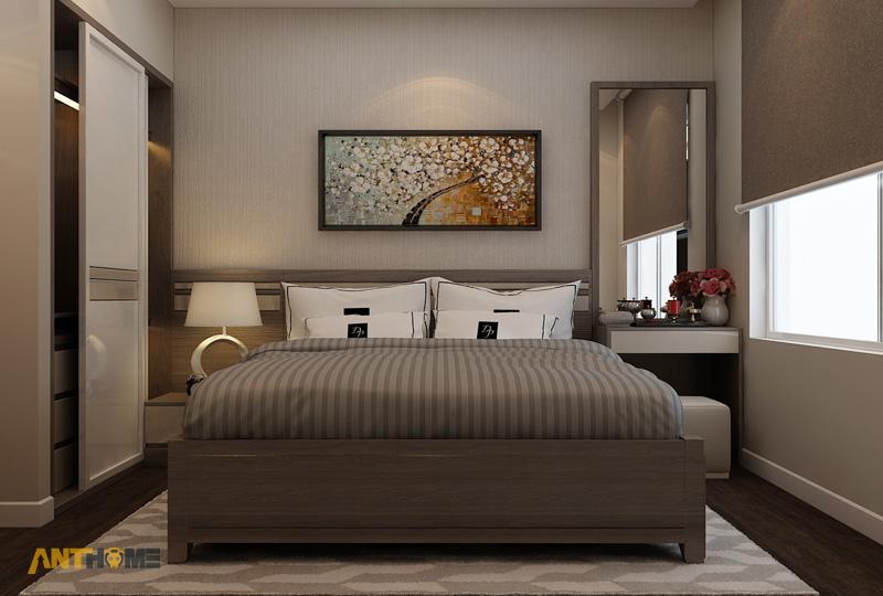 Thiết kế nội thất căn hộ ICON56 1 phòng ngủ 16