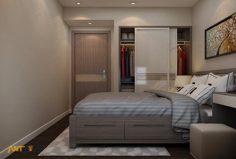 Thiết kế nội thất căn hộ ICON56 1 phòng ngủ 17