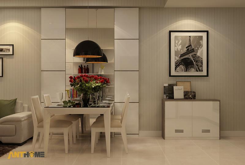 Thiết kế nội thất căn hộ ICON56 1 phòng ngủ 4