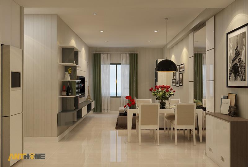Thiết kế nội thất căn hộ ICON56 1 phòng ngủ 5