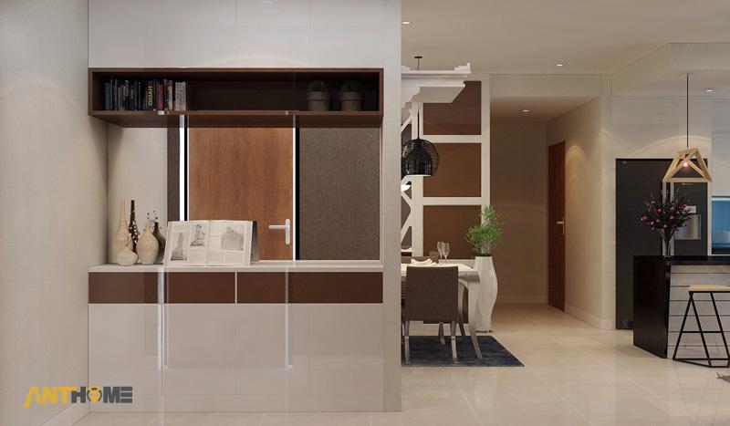 Thiết kế nội thất can hộ Lexington Residence 1 phòng ngủ 1